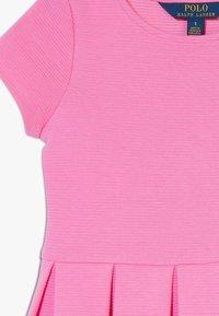 Polo Ralph Lauren - SOLID DRESSES - Žerzejové šaty - baja pink - 3