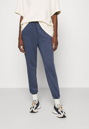 OF MIND  - Tracksuit bottoms - mottled dark blue