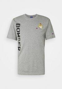 CREWNECK NINTENDO - Print T-shirt - mottled grey