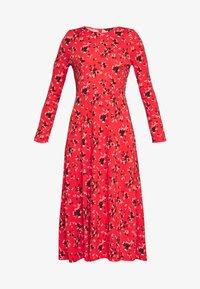 Banana Republic - CREW PRINT - Denní šaty - red - 4
