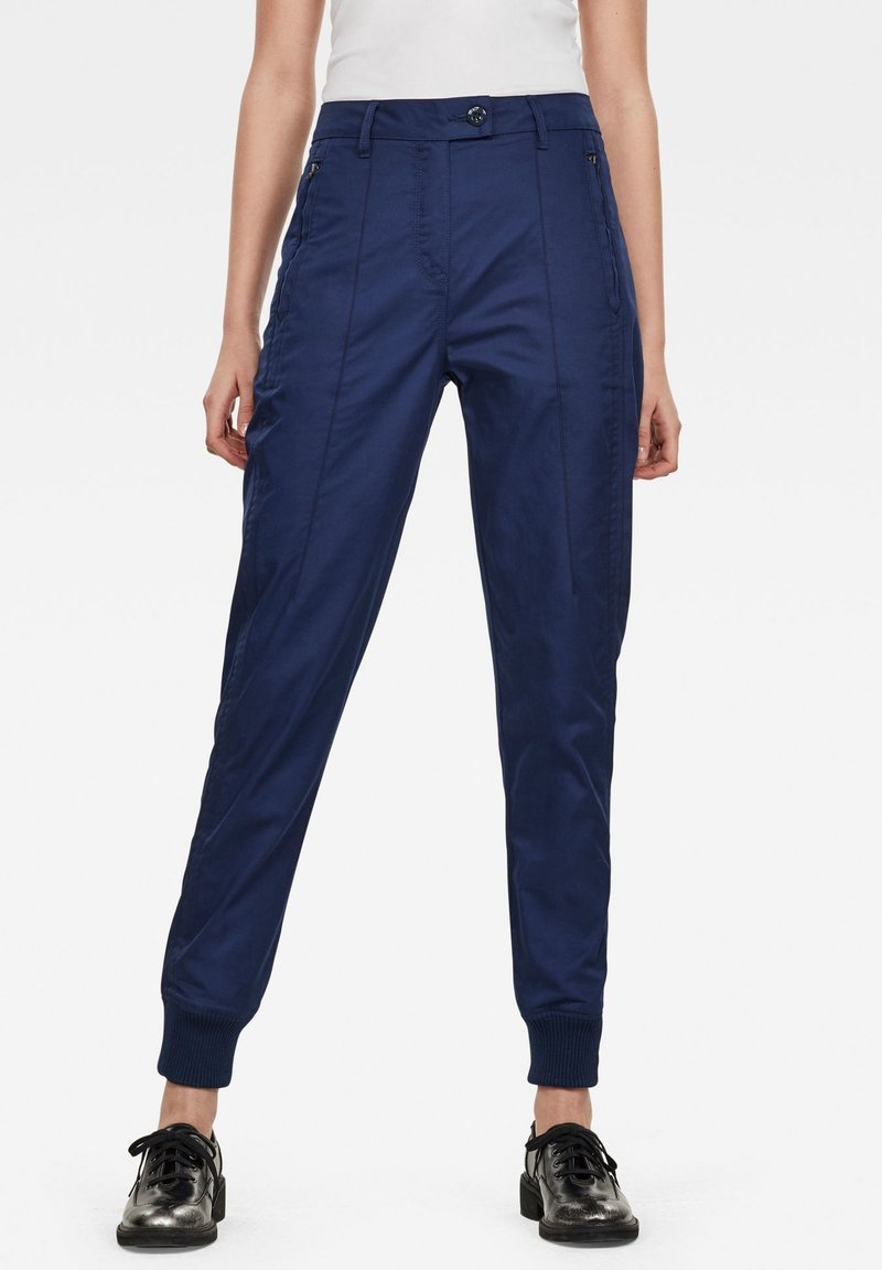 G-Star - ESPOR HIGH - Trousers - imperial blue