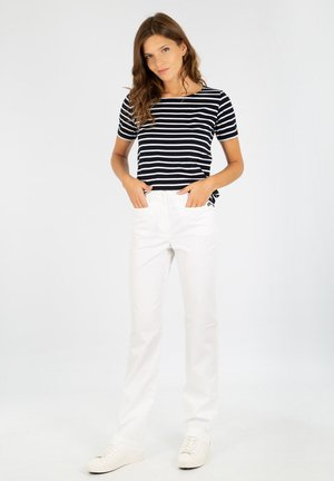 TRIMARAN - PANTALON - Trousers - blanc