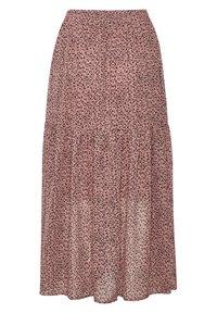 Kaffe - BPFILUA - A-line skirt - old rose with black flowes - 5
