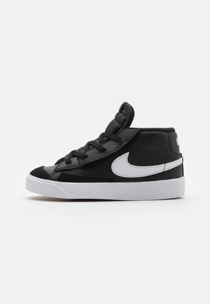 BLAZER MID '77 UNISEX - Korkeavartiset tennarit - black/white/team orange