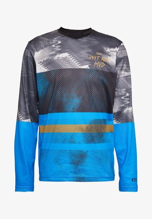 TEE SCRUB - Long sleeved top - inside blue