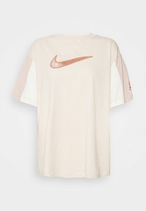 T-shirts print - pearl white