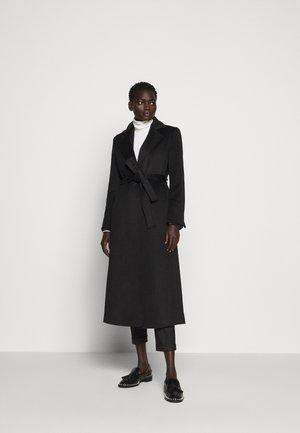LONGRUN - Klasický kabát - black