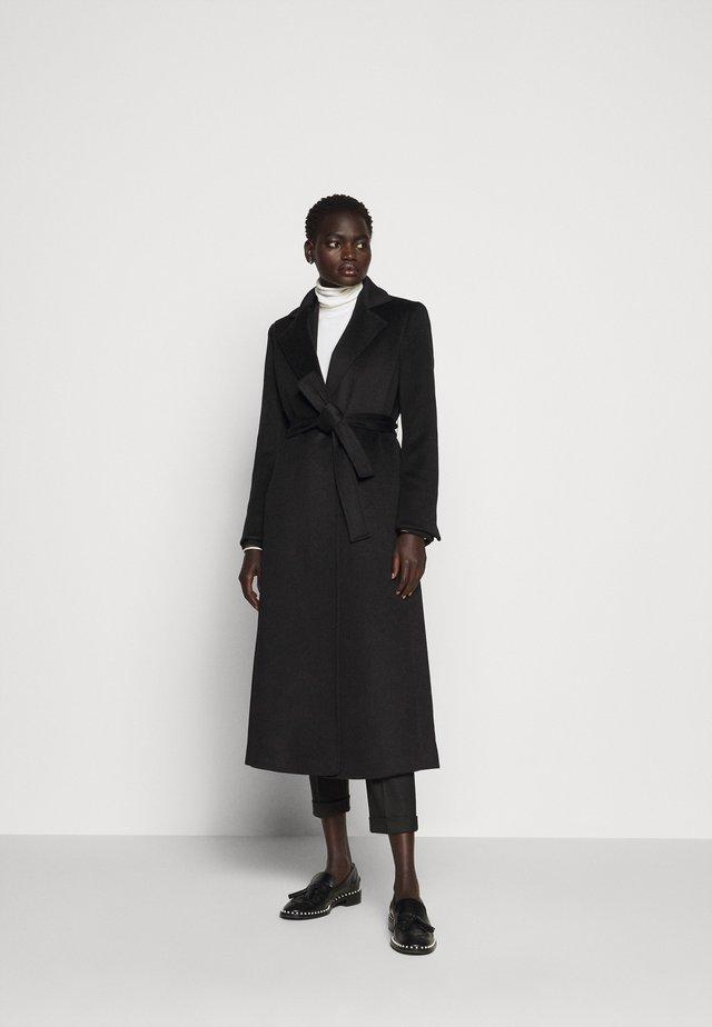 LONGRUN - Zimní kabát - black