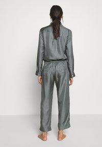 ASCENO - THE ANTIBES - Pantaloni del pigiama - agave wave - 2