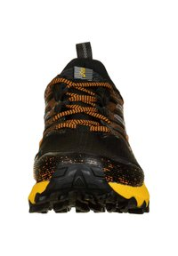 ASICS - Trail running shoes - black / sheet rock - 5