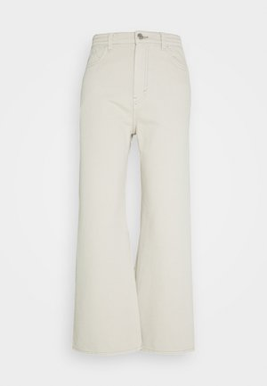 LINEAR TROUSERS - Jeansy Straight Leg - canvas