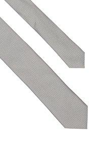 HUGO - Kravata - open grey - 3