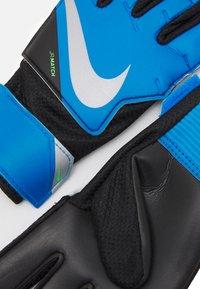 Nike Performance - GOALKEEPER MATCH UNISEX - Goalkeeping gloves - photo blue/black/silver - 2