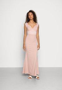 WAL G. - EMMA LACE  DRESS - Ballkjole - blush pink - 0