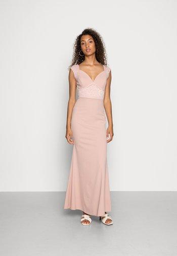 EMMA LACE  DRESS - Suknia balowa - blush pink