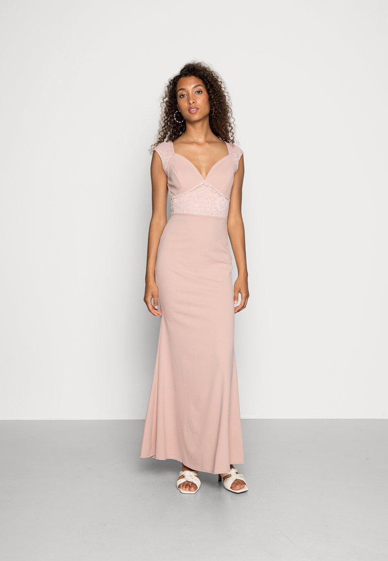 WAL G. - EMMA LACE  DRESS - Ballkjole - blush pink