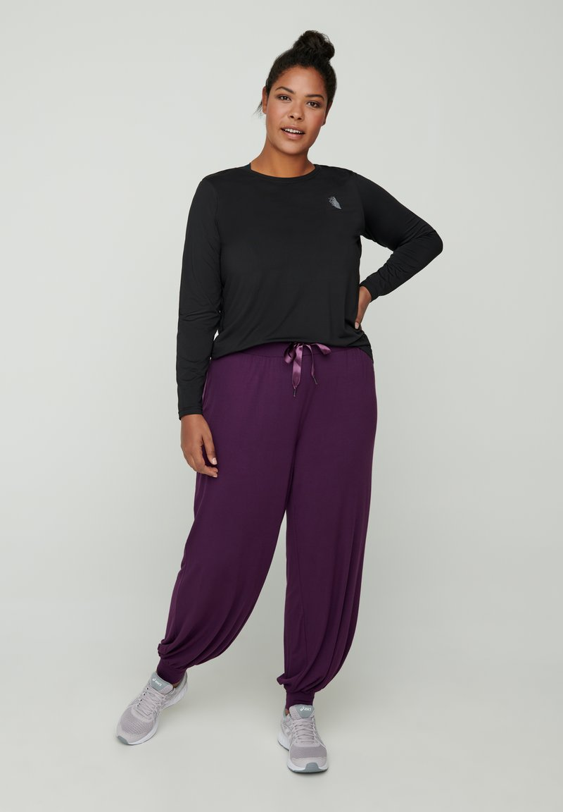 Zizzi - Trainingsbroek - purple