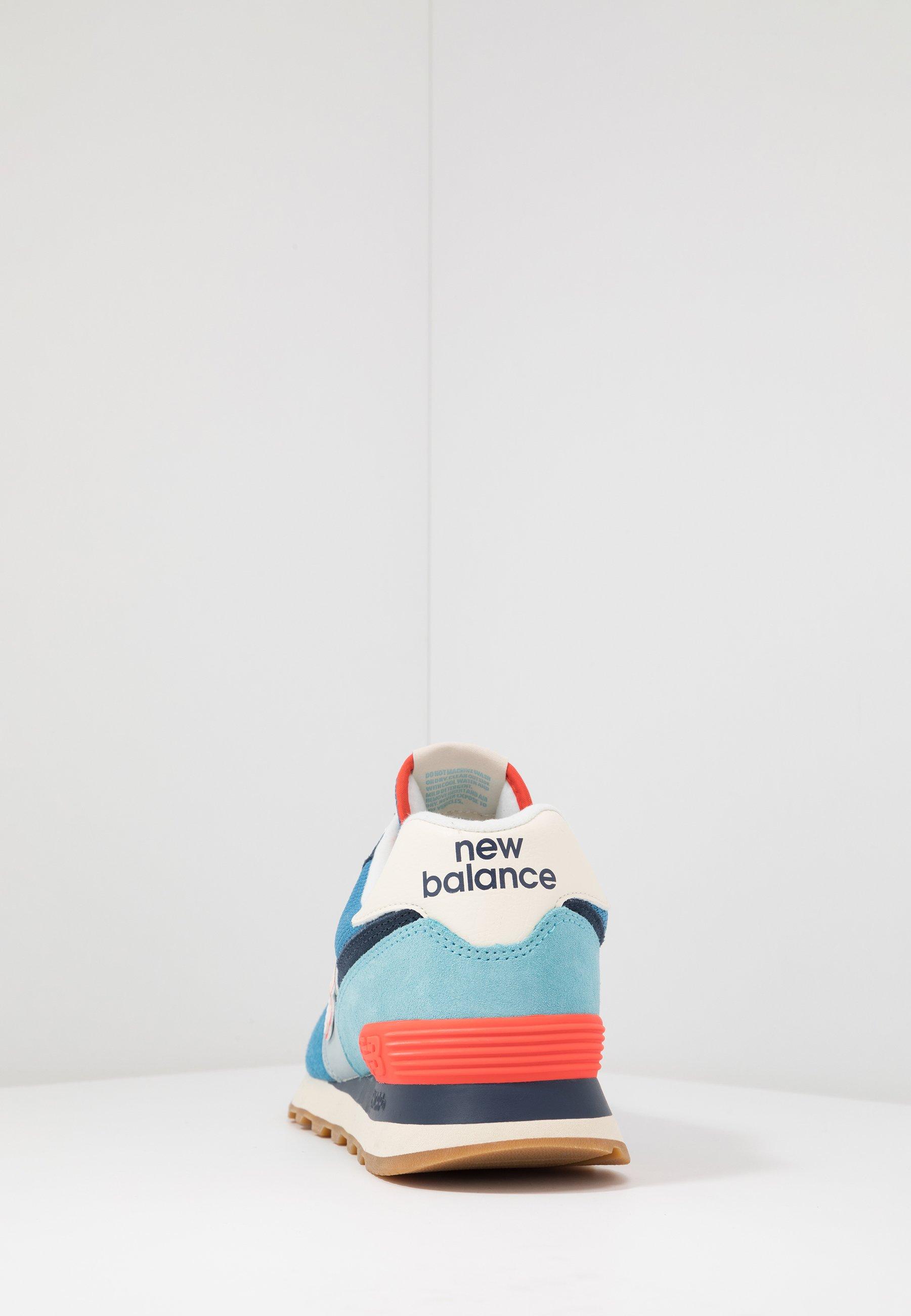 new balance bleu canard
