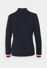Tommy Hilfiger - SLIM GLOBAL ZIP UP - Veste de survêtement - blue - 6