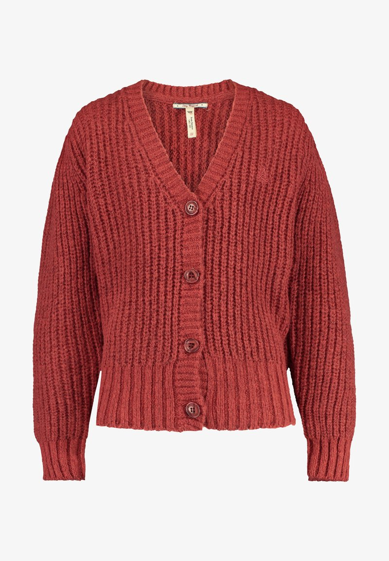 America Today - Vest - washed red