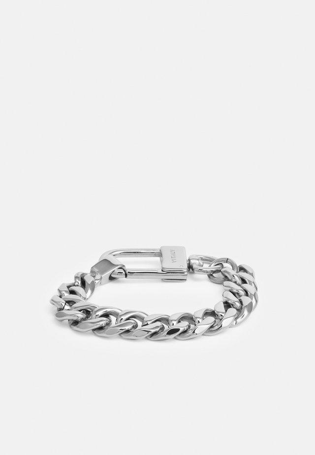 LOGIC UNISEX - Armband - silver-coloured