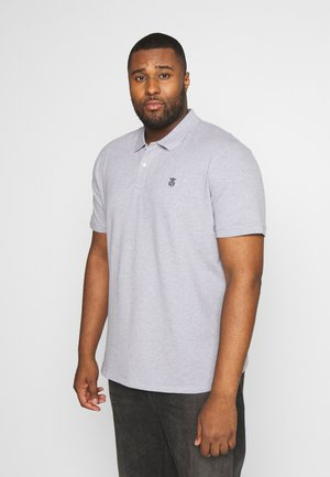SLHARO - Polo shirt - medium grey melange