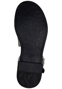 Marco Tozzi - Ankle cuff sandals - white/black - 3