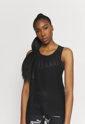 TRAIN TANK - Top - black