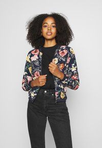 ONLY - ONLNOVA LUX - Bomber Jacket - night sky/night garden - 0