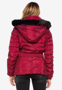Cipo & Baxx - Winter jacket - burgundy - 2