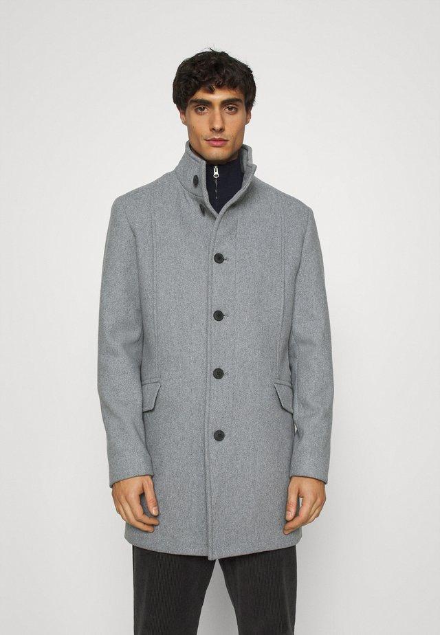 SLHMORRISON COAT - Klassinen takki - grey melange