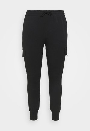 SINE PANTS - Trousers - black deep