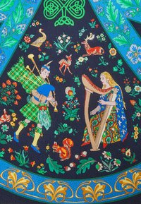 Roeckl - SCOTTISH FAIRYTALE  - Scarf - multi blue - 1