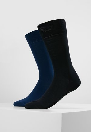 2 PACK COOL  - Calze - dark blue/royal blue