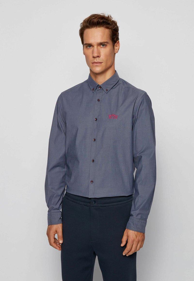BOSS - BIADO_R - Shirt - dark blue