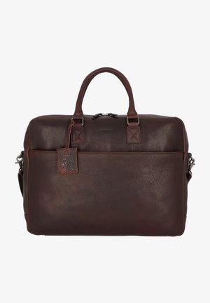 BURKELY ANTIQUE  - Briefcase - brown