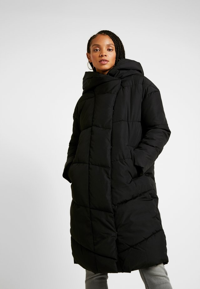 NMTALLY LONG JACKET - Winterjas - black