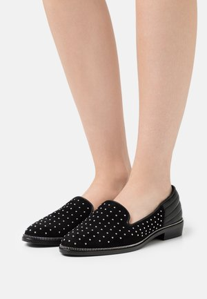 DECORATED WITH STUDS - Mocasines - black