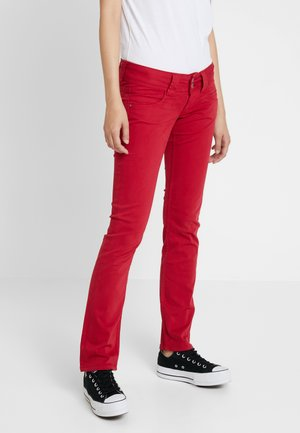 VENUS - Trousers - berry red