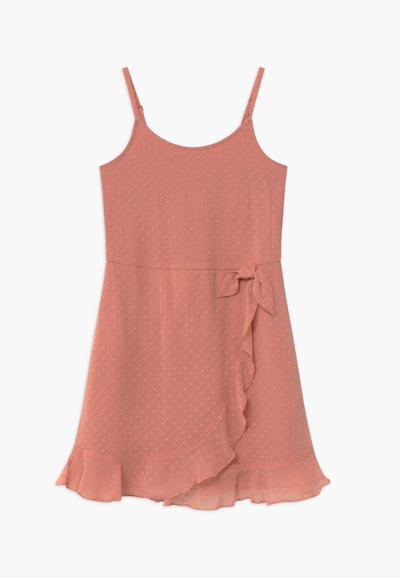 Abercrombie & Fitch - BARE WRAP RUFFLE - Day dress - ash rose