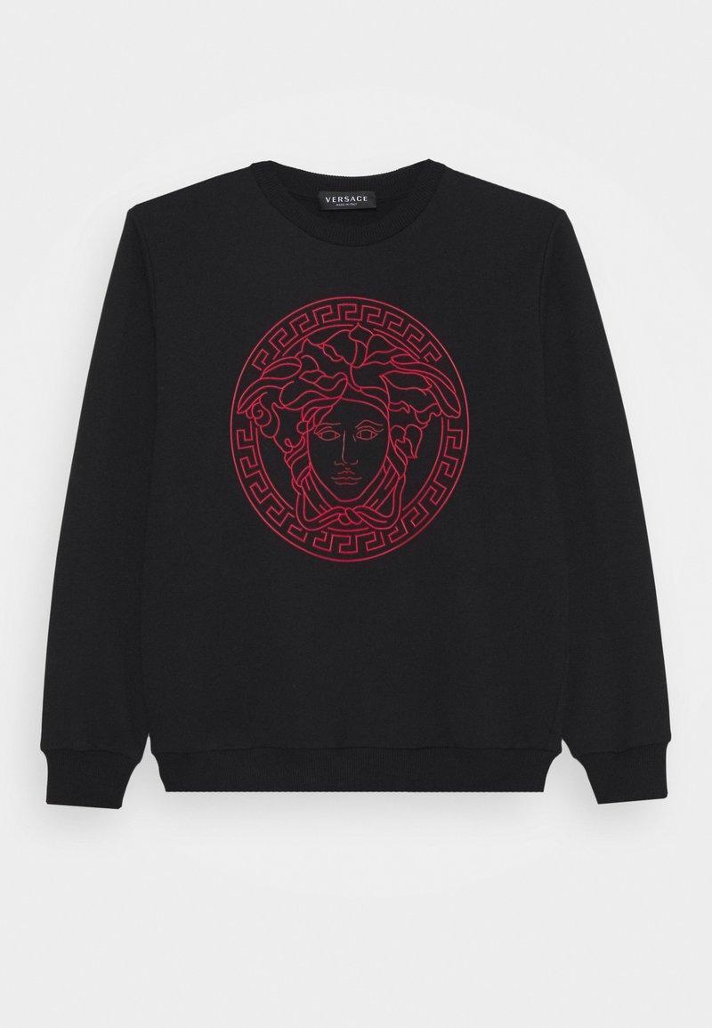 Versace - FELPA UNISEX - Sweatshirt - nero