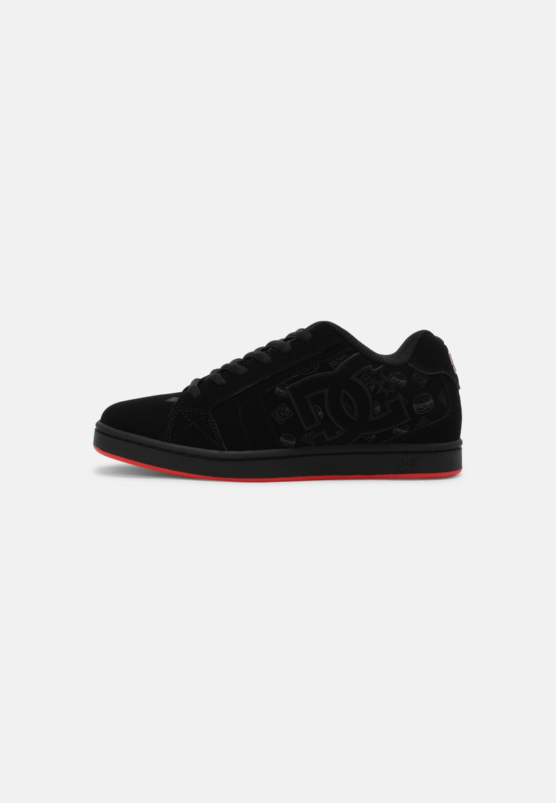 DC Shoes - BOBS NET UNISEX - Trainers - black/red
