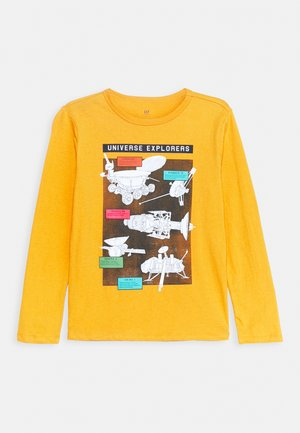 BOY GRAPHICS - Long sleeved top - rugby gold