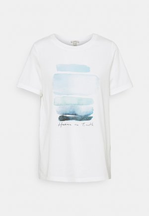 COO TEE - Print T-shirt - off white