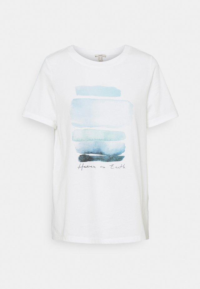 COO TEE - T-shirt imprimé - off white
