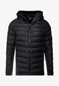 Alessandro Zavetti - AMIATA PADDED JACKET - Light jacket - black - 3