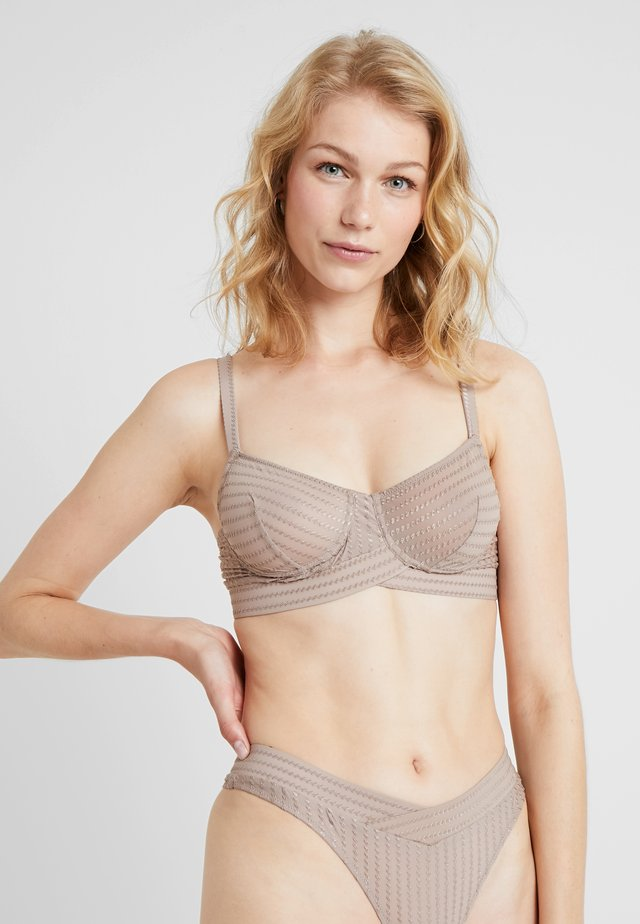 ZIGGY EVERYDAY BRA - Soutien-gorge à armatures - warm taupe
