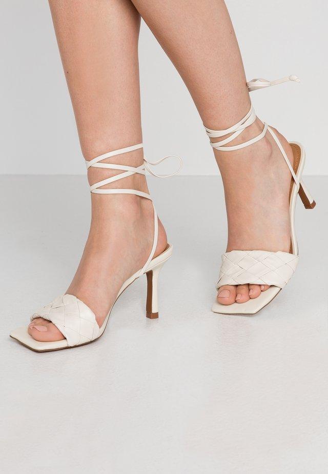 MEARA - High heeled sandals - prestine