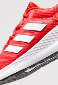 adidas Performance - RUNFALCON - Neutral running shoes - active red/footwear white/core black - 5