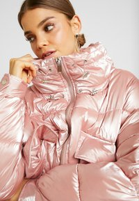 Sixth June - OVERSIZED CHEST POCKET - Winter jacket - pink - 3